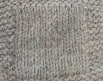 sport weight yarn: Light Gray Sheep 2 ply Sport Weight soft  wool yarn undyed skein farm yarn