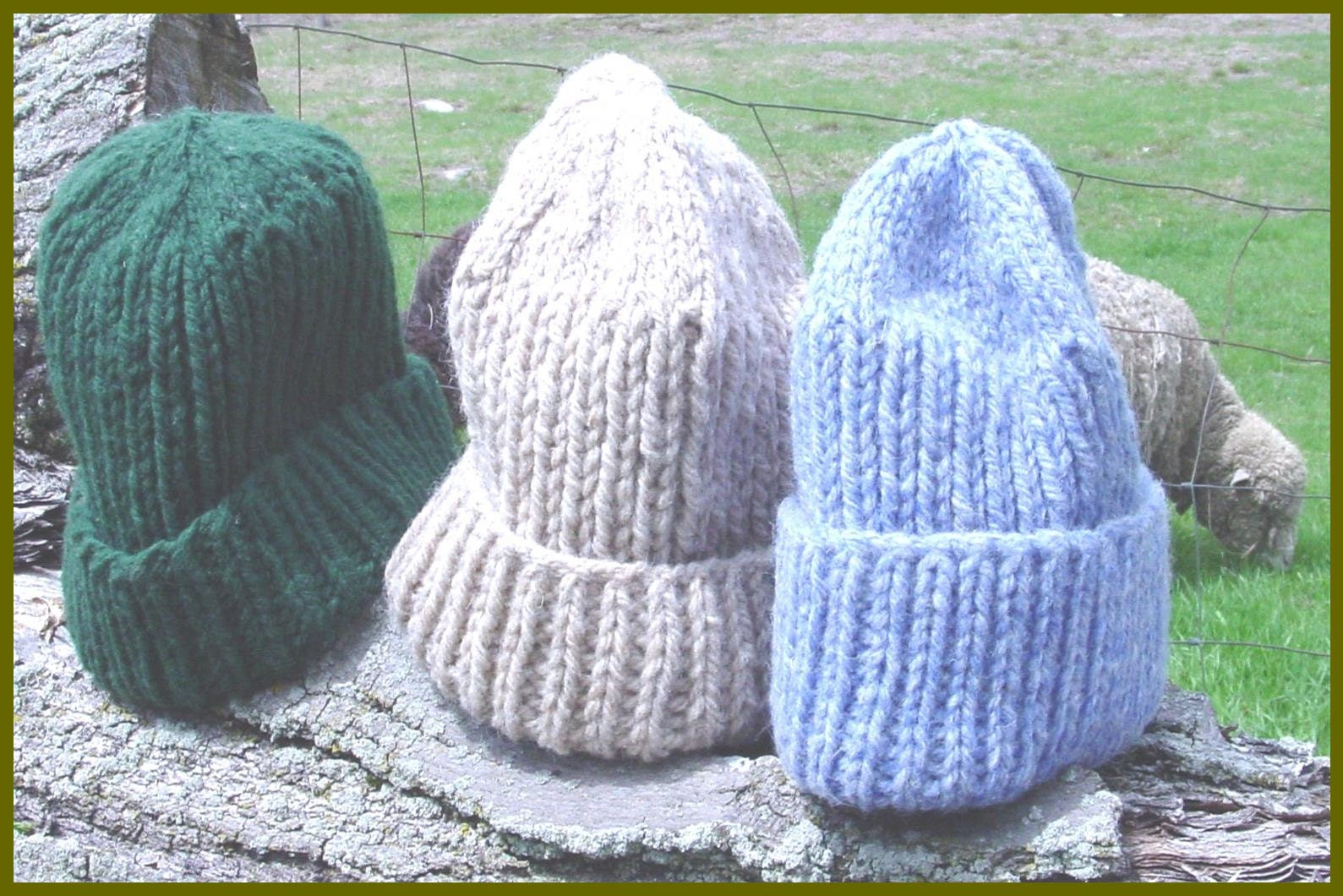Bulky Barn Hat PDF Easy Knitting Pattern digital.  3.00. Instant Digital  Download 585069bb372