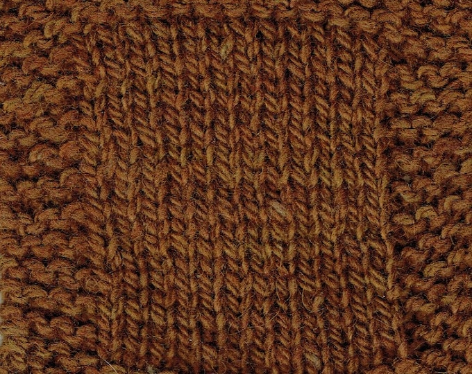 Maple Syrup bulky 3 ply soft wool farm yarn from our American farm, free shipping USA