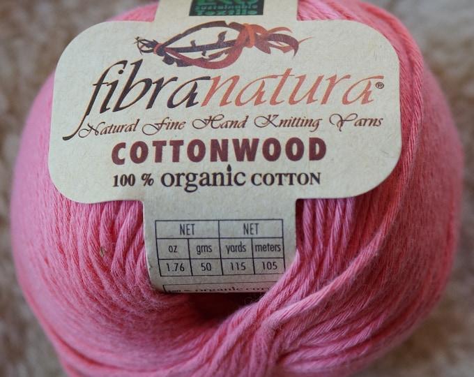 Cotton worsted weight yarn organic cotton sale yarn