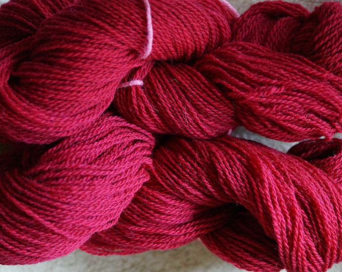 Orchid sport 2 ply wool yarn from our American farm free shipping offer