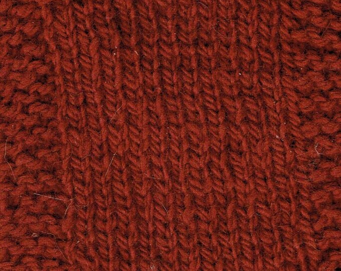 Garnet  2 ply hand dyed worsted weight soft wool yarn from our USA farm Free shipping offer
