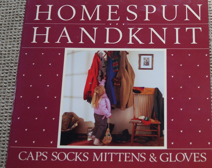 Homespun Handknit by Linda Ligon classic book for handspinners out of print classic book free shipping offer