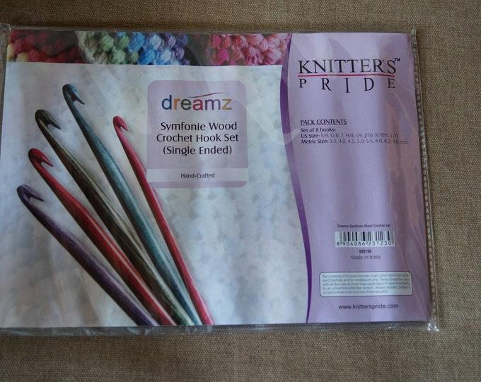 Dreamz crochet hook set wood free shipping