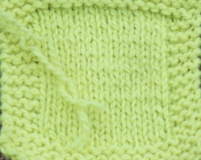worsted weight yarn: Neon Yellow 2 ply Kettle Dyed wool worsted weight yarn from our farm