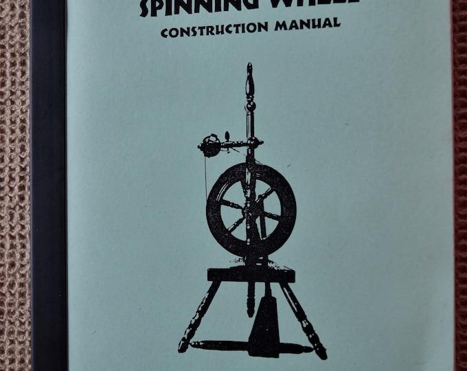 A Small Upright Spinning Wheel Construction Manuel