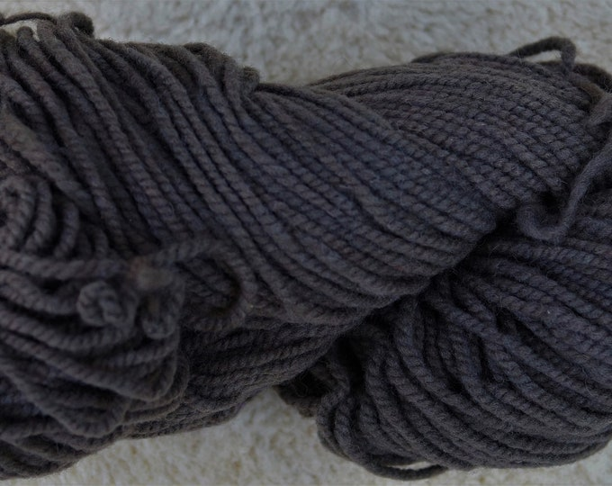 Seal Brown soft wool kettle dyed American farm yarn free shipping offer