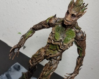 Marvel universe custom cable diorama | Etsy