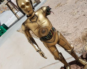 Star wars c3po statue figure