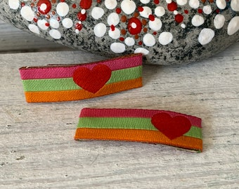 1 pair of baby hair clips