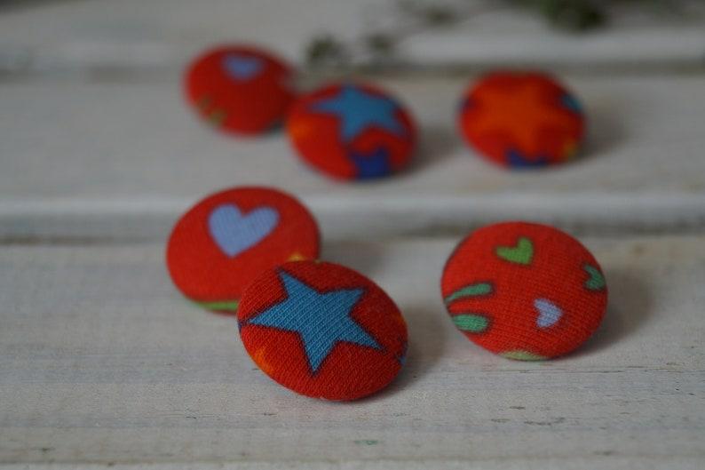 Fabric button / unique image 0