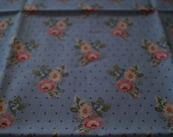 Coupon patchwork cotton fabric