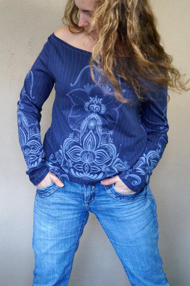 Shoulder-free mandala Shirt image 0