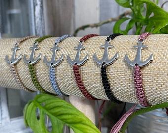 "Bracelet ""big anchor"" silver"
