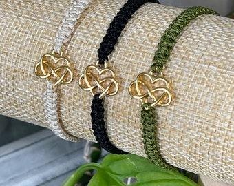 """Bracelet """"infinite love"""" gold"""