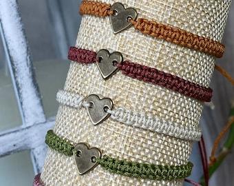 """Bracelet """"Heart"""" antique"""