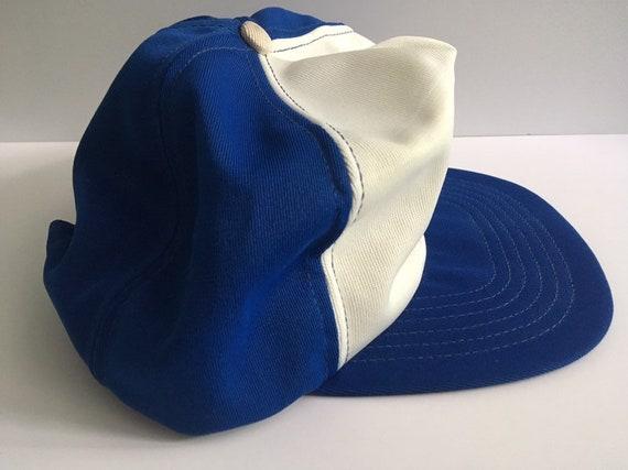 Rare! Vintage Toronto Maple Leafs Polyester NHL Hockey Patch Snapback Hat