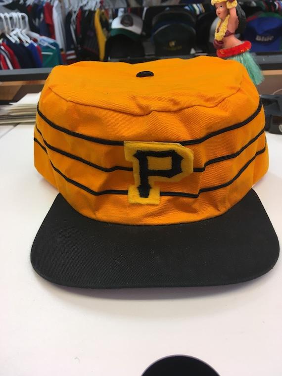 f7794b60fa850 Vintage Pittsburgh Pirates MLB Baseball Painters Pillbox Style