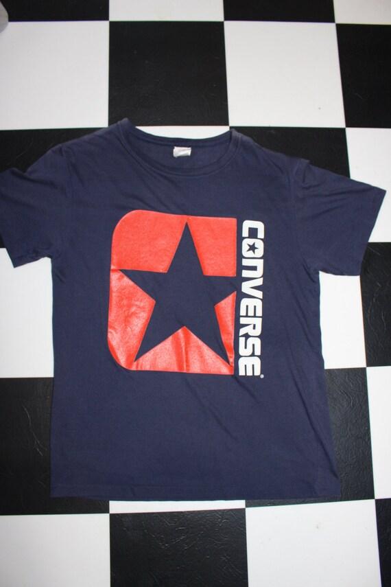 Vintage 80s Converse Sneakers Sz med Tshirt