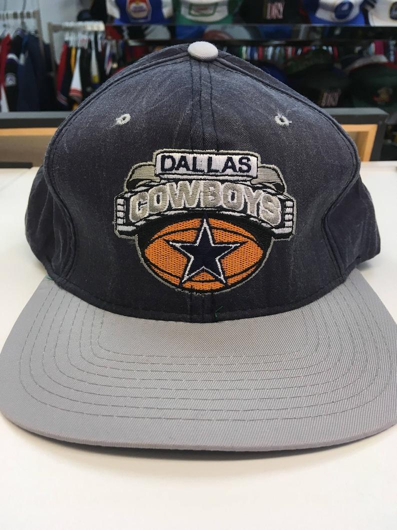 d3a6c53d5d9 Vintage Dallas Cowboys NFL Football Starter Acid Wash Snapback