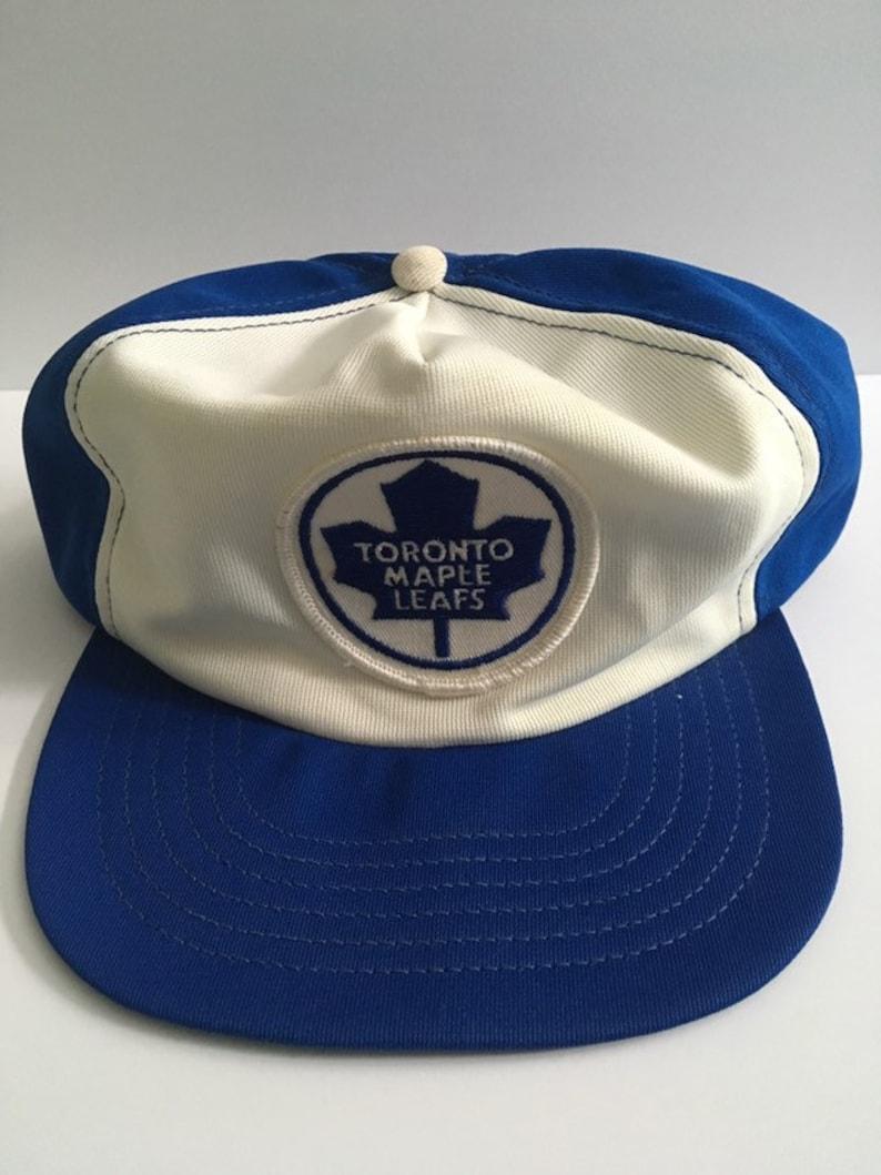 0ba1c22e3fab08 Rare Vintage Toronto Maple Leafs Polyester NHL Hockey Patch   Etsy