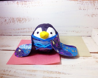 Penguin with Kimono roly-poly