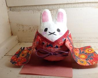 Big Bunny with Kimono roly-poly
