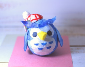 Hat Owl Roly-Poly