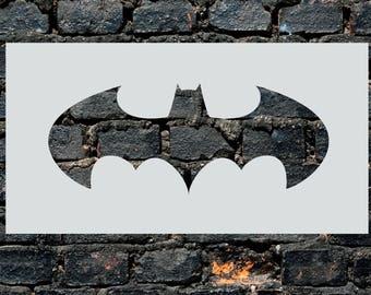 Gotham City Batman Stencil Wall Art Plastic Reusable