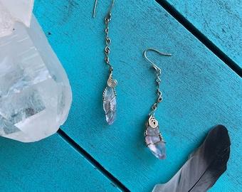 Handmade ONSIE amethyst earring