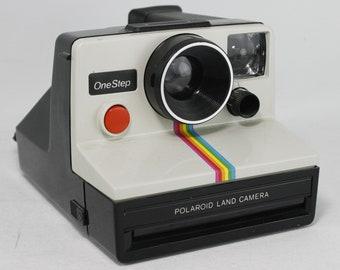 Polaroid Land Camera One Step Rainbow Vintage SX-70 Tested