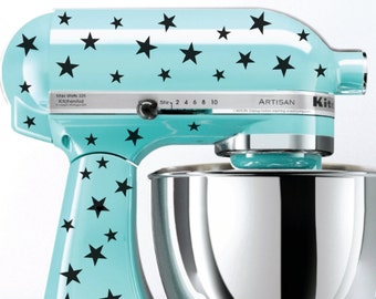 Star Kitchen Mixer Decals, Mixer Stickers