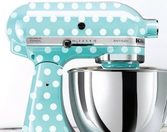 Polka Dot Kitchen Mixer Decals
