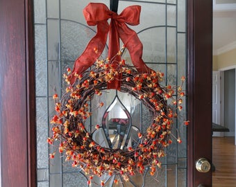 Fall Wreath-Fall Wreaths for Front Door-Bittersweet Wreath-Autumn Wreath-Thanksgiving Wreath-Harvest Wreath-Front Door Wreaths-Wreathes