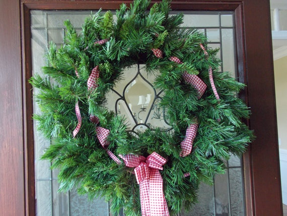Christmas Wreath Christmas Wreaths For Front Door Christmas Etsy