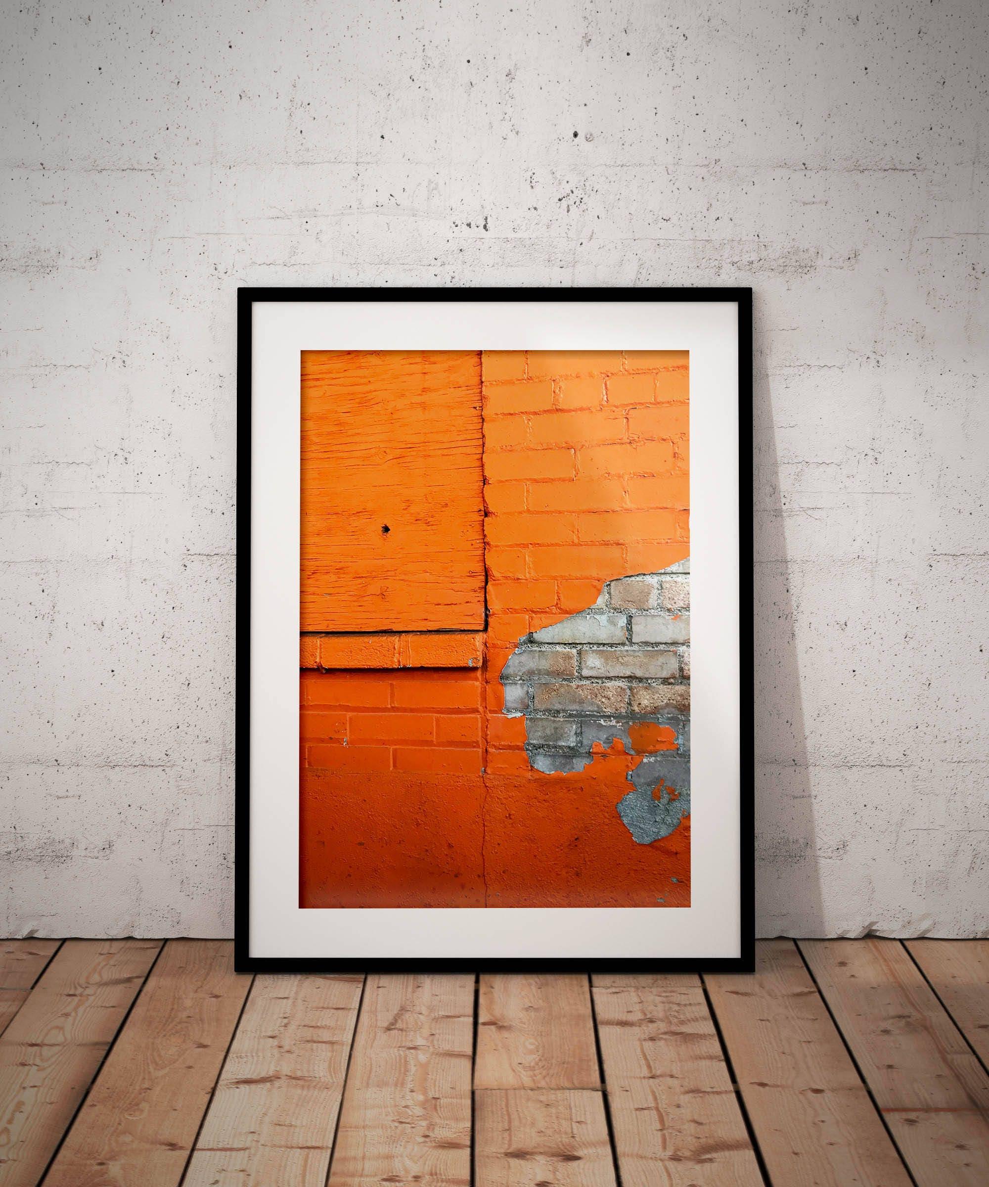 Peinture Qui S écaille Orange Numérique Télécharger Art Mural Imprimable Photo Photographie De Nature Décor à La Maison Fine Art Coloré