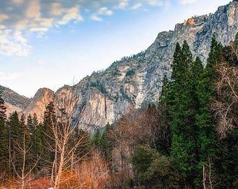 Yosemite National Park Landscape - Mountain Landscape - Nature - California - Wall Art - Home Decor