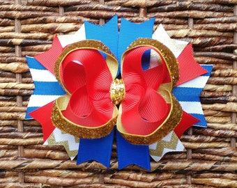 4th of July hair bow | Patriotic hair bow