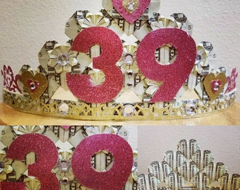 Personalized Name Money Pageant Crown