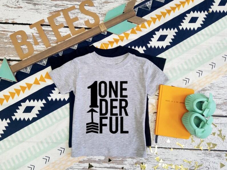 ONEDERFUL Birthday T Shirt First