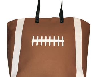 Personalized Football Canvas Embroidered Shoulder Bag with FREE Personalization /& FREE SHIPPING B0750