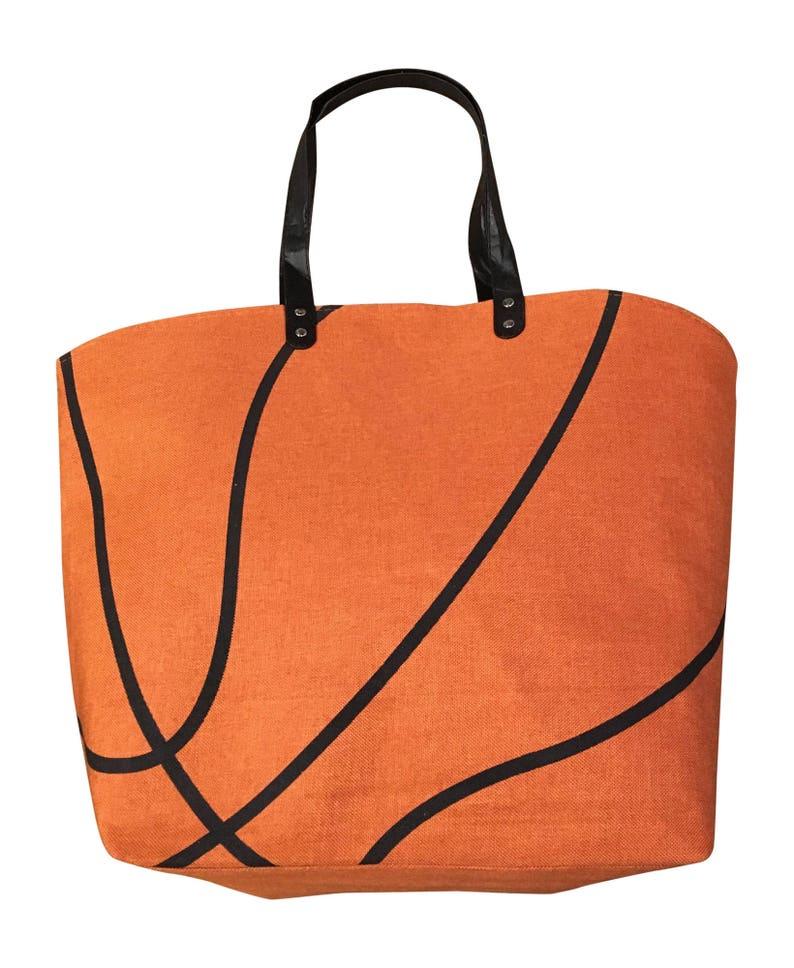Basketball Canvas Tote Sports Bag Various image 0