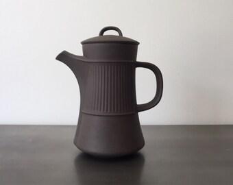 Mid Century Dansk Teapot Coffeepot Carafe// Flamestone // Jens Quistgaard // Three Ducks // Scandinavian Modern