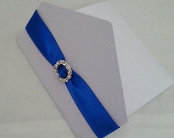 Pocketfold Wedding Invite