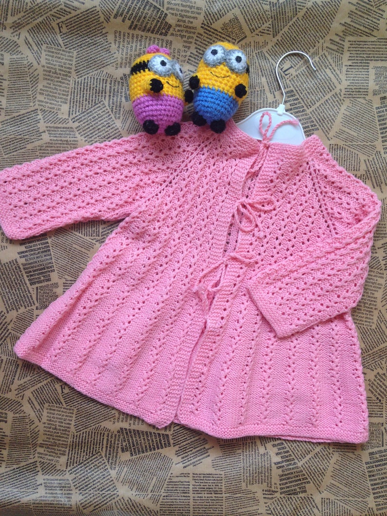 Baby & Toddler Clothing Hand Knitted Baby Cardigans 3-6 Months