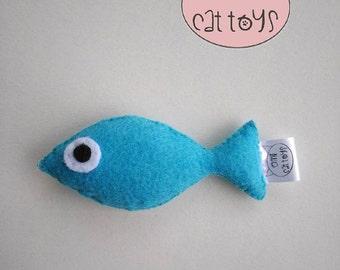 Tuna Cat Toy, Tuna Catnip Toy, Tuna Valerian Cat toy