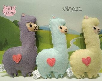 Alpaca Cat toy , Alpaca Valerian Cat toy, Alpaca Catnip Toy