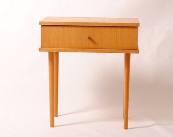 furniture Scandinavian/table/bedside vintage/retro modernist/years 50/night/bedside table.