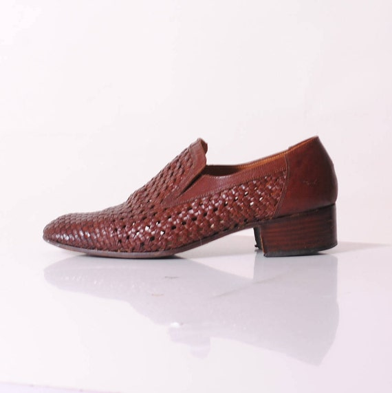 dandy shoes, luxurious shoes,french vintage,made i
