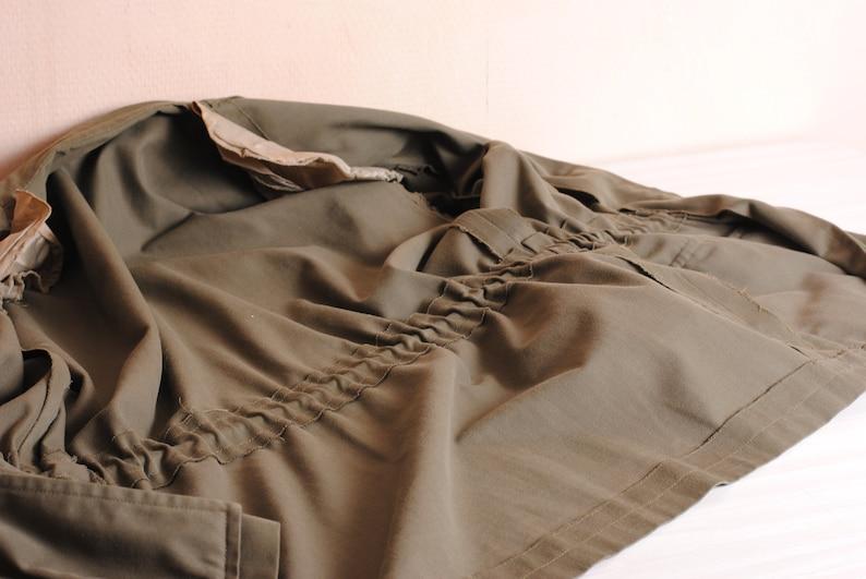 military army coat urban ladies retro women/'s khaki jacket urban clothing green coat unisex vest